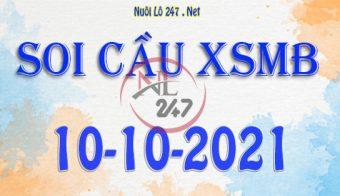 Soi cầu XSMB ngày 10-10-2021