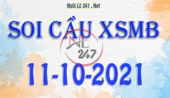 Soi cầu XSMB ngày 11-10-2021