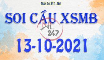 Soi cầu XSMB ngày 13-10-2021